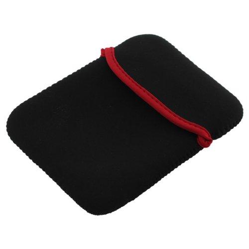 Premium Neopren Tasche schwarz für alle Tablets / Tablet-PCs mit 6 Zoll-Displayformat, z.B. Asus FonePad Note FHD6 / Archos 35 Internet Tablet 4GB (501733) / 5 60GB / Coby Kyros 4.3