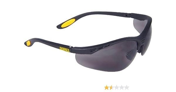 DeWalt Reinforcer SGFRS DPG58-2D - Occhiali protettivi da lavoro, in vetro, colore: Grigio fumé