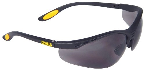 DeWalt Reinforcer Smoke Glasses Black/Smoke