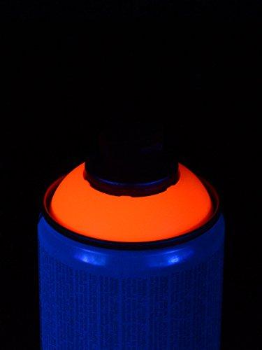 400ml Schwarzlicht Lackspray Rot