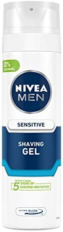 NIVEA MEN Shaving, Sensitive Shaving Gel, 200ml
