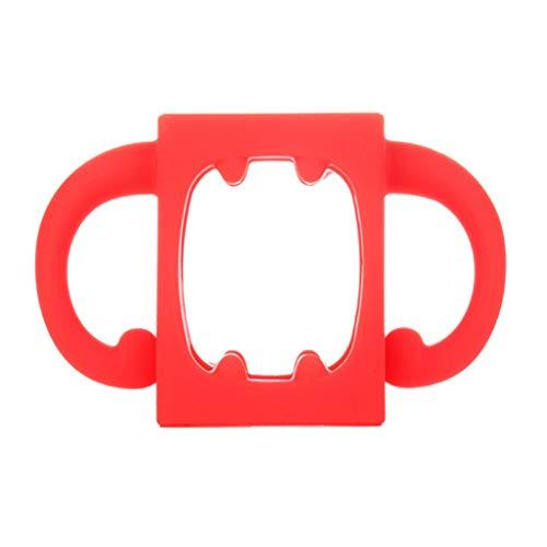 Haorw Babyflaschengriff Bottle-Halter,Weiches Silikon,Zubehör Für Hitzebeständige Saugflaschen