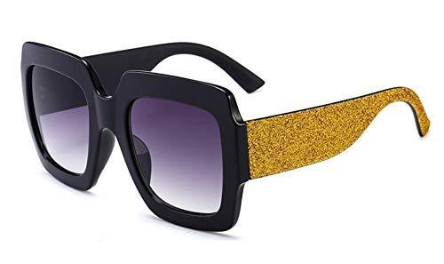 GFF 46012 Lady Rainbow Shiny Square Sonnenbrille Übergroße Männer Frauen Markenbrillen Designer Fashion Männlich Weiblich