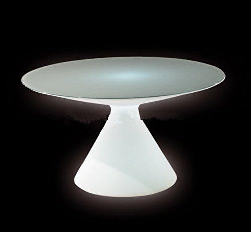 Preisvergleich Produktbild Gowe Couchtisch im europäischen und amerikanischen Stil Outdoor LED Bubble Light Kunststoff Kaffee Station/partyhotel Creative Couchtisch klein