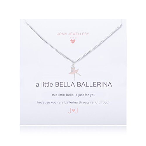 Joma Jewellery Girls A Little Belle Ballerina Necklace