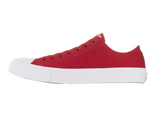 Converse Herren Ct As Ii Ox Tencel Sneaker Rot/Weiß