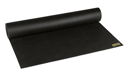Jade Harmony Professional Travel Yoga Mat - Standard & Long Sizes (Black, Standard 68