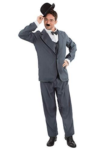 Kostüm One Act - Herren Stan Laurel Oliver Hardy Film Karneval Verkleidung Kostüm Extra Large