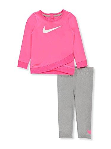 Nike 669s-042Trainingsanzug, bebé-niños, Baby - Jungen, 669S-042_XXS_Blanco, weiß, 18 Meses -