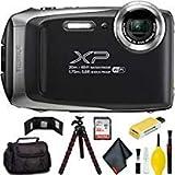 FUJIFILM FinePix XP130 Digital Camera (Silver) Pro Bundle