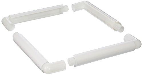 Yarn Tree Q-Snap Quilt- und Stickrahmen Kurzwaren, Kunststoff, Weiß, 25 x 11 x 3 cm