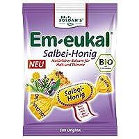 EM EUKAL Bonbons Salbei Honig Bio, zh. 75 Gramm preisvergleich bei billige-tabletten.eu