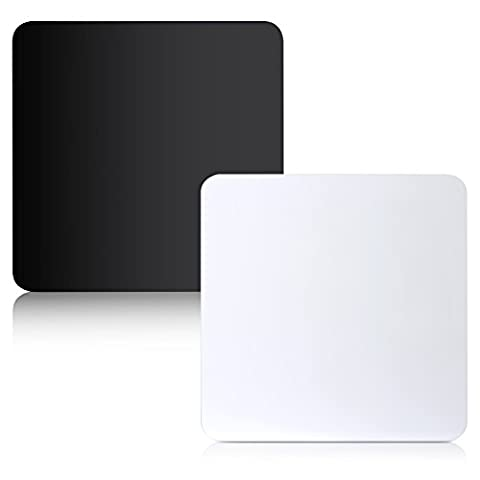 Neewer® 30,5x 30,5cm/30x 30x 30cm Produit réfléchissant Tableaux en acrylique pour table Photographie (Noir et Blanc)