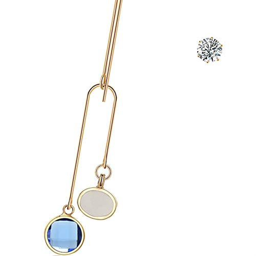 PRENKIN Einzigartige hängende Frauen-Mädchen-Ohrstecker Legierung Ohrbügel baumeln Ohrringe Modeschmuck