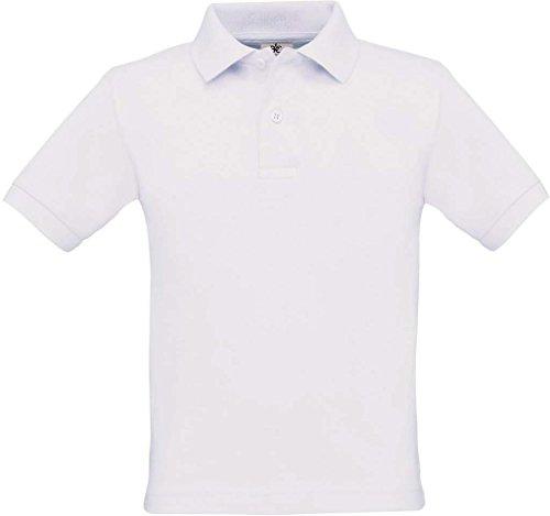 Poloshirt 'Safran Kids', Farbe:White;Größe:152-164 (12-14) 152-164 (12-14),White