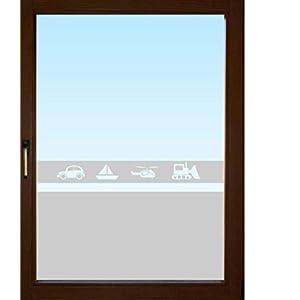 602 / 65cm hoch Sichtschutzfolie Fensterfolie Glasdekor Badezimmer Fenster Folie