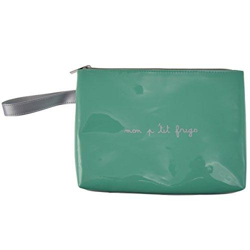Incidenza paris 61819astuccio isotermico p & f polivinil colore verde 25x 4, 5x 18cm