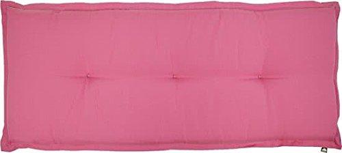 Kopu Prisma Bankauflage Polster Garten Kissen 120x50 cm Rosa - Deep Pink