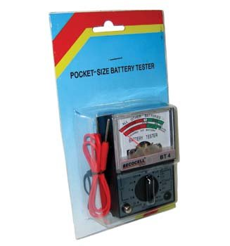 Becocell Batterietester Superpart BT-934 Messbereich (Batterietester) 1,2 V, 1,5 V, 3 V, 3,6 V, 3,7