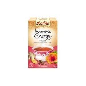 Yogi Tea Women's Energy Organic 17 Bag (Case of 6)