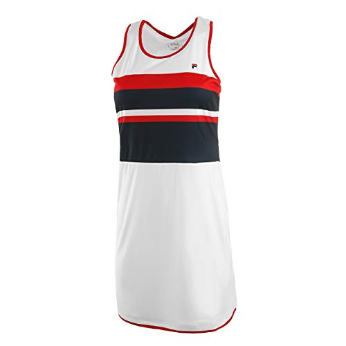 Fila Damen Doro Dress M (Fila-tennis-kleid)