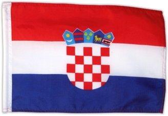Kroatische Flagge (Fahne Flagge Kroatien 30 x 45 cm [Misc.])