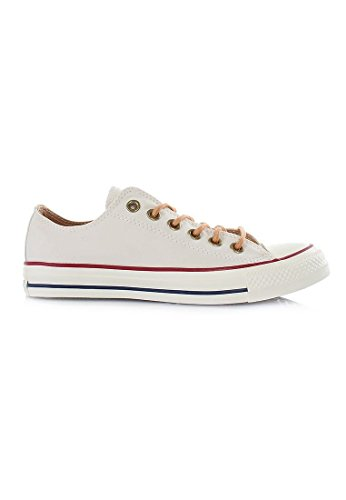 Converse All Star Ox Homme Baskets Mode Blanc - Beige