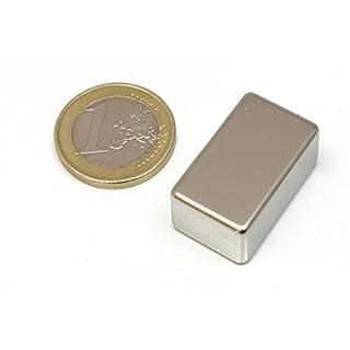 AimanGZ - Neodymmagnet block, 27 mm x16 x12 millimeter millimeter