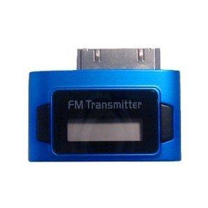Fm-transmitter-ipod-4 (Exeze Pico 5 FM Transmitter für iPhone, iPod Nano, iPod Touch, iPod Classic - Sehr klein - Keine Kabel oder Batterien erforderlich - Blau)