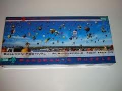Balloon Festival - Albuquerque, New Mexico - 750 piece puzzle