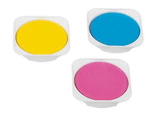 Idena 22064 - Deckfarbkasten mit 24 Farben und 1 Tube Deckweiß - 5
