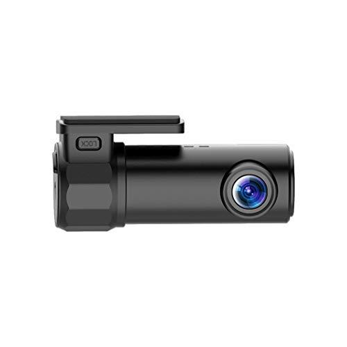 Unbekannt Dash Cam 170 ° Weitwinkel mit wasserdichter Rückfahrkamera, Dashboard-Kamera mit Rückfahrsystem, Nachtversion, WDR, Bewegungserkennung