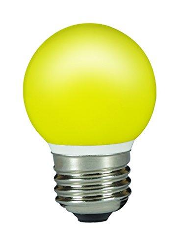 Sylvania SYL0026889 Ampoule Toledo Ball LED couleur 0.5 W, 240 V, Jaune