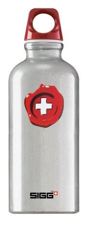 Sigg Trinkflasche Bottle Swiss Quality 0,4l, alu, 0,4l, 8137.20 (Schweizer-wasser-flasche Aluminium)