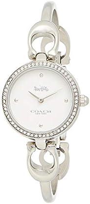 Coach Womens Quartz Wrist Watch, Analog and Stainless Steel- 14503448