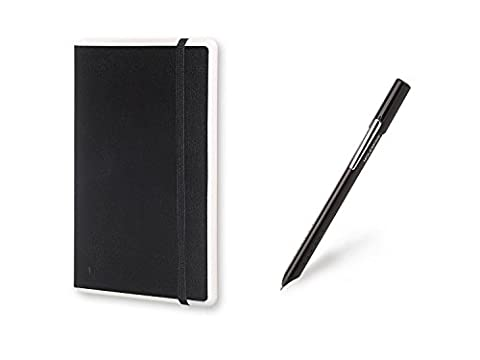 Moleskine Smart Note Pad & Smart Pen Writing Set for iOS iPhones, Android Phones & iPad / Tablets