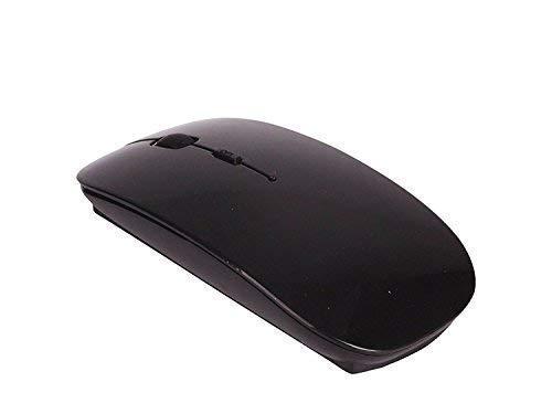 Trimming Shop 2.4GHz Schwarz USB Kabellose Optische Maus für Laptop, Notebook und PC - Kompatible mit Windows und Mac Computer - Nano Receiver - Mac-kompatible Maus