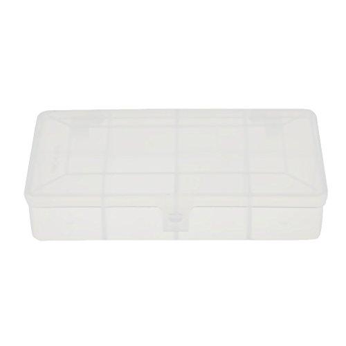 Gazechimp Mehrzweck 7 Fächer Aufbewahrungsbox Angelgerät Haken Köder Box Tackle Box
