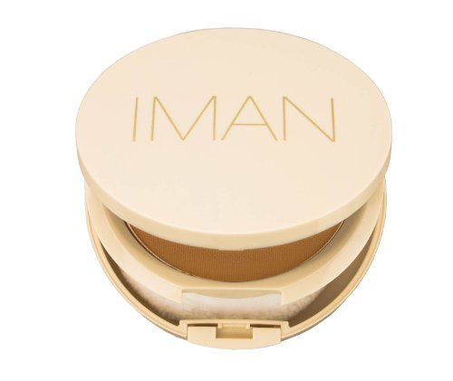 IMAN Oil Blotting Pressed Powder Medium