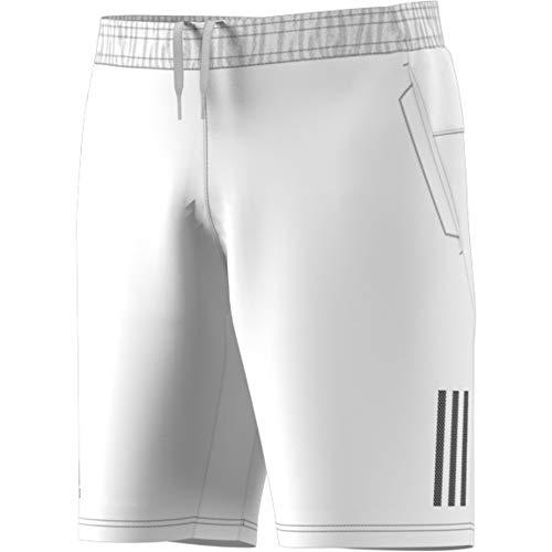 Club Shorts (adidas Herren Club 3-Streifen Shorts, White/Black, L)