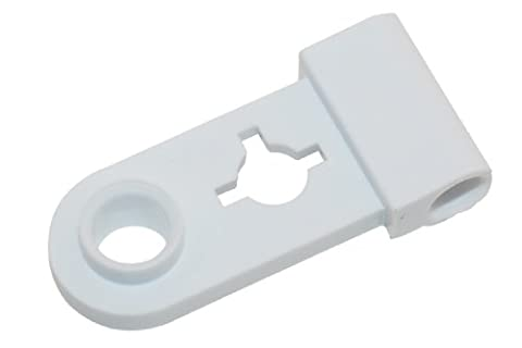 Creda Fagor Hotpoint White Westinghouse Washing Machine White Door Hinge Support. Genuine part number C00201283