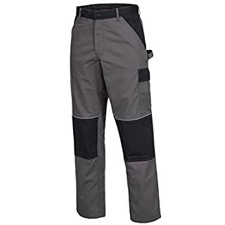 ACE Motion Tex Arbeitshose Bundhose, Öko-Tex-Standard, 245 g/m², Farbe: grau
