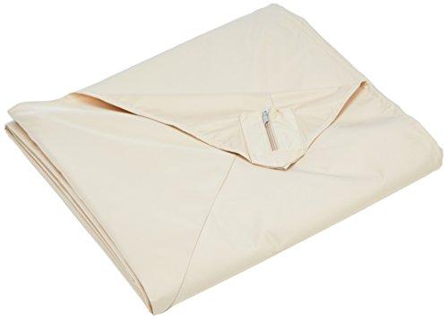 Leco 16653102 tenda da giardino tenda in tela Nomado, taupe, 300 x 365 x 1 cm