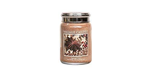 Village Candle - Duftkerze 626g - Tradition Spiced Noir - 2-Docht-Kerze - Windlicht -