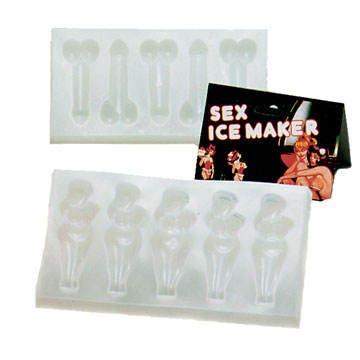 Scherzartikel Eiswürfel-Form Penis