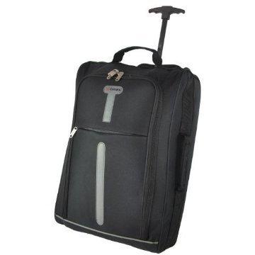Cities ® léger bagage à main Fourre-tout de voyage Bagages cabine Valise Wheely Approuvé Sac Ryanair Easyjet Et bien d'autres - 1.4k - 40 Litres