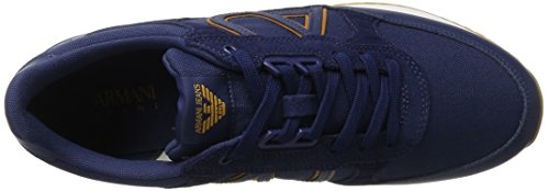 Armani Jeans 9350287p424, Sneakers basses homme Blau (blue 1560)