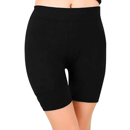 Luckycat Super weiche Baumwoll-Shorts elastisch Stretch Yoga-Unterhose Damen Shorts Radlerhose Unterhose Hotpants Kurze Hose Boxershorts Shorts für Damen Unterwäsche Shorts Hotpants Blickdicht Stretch
