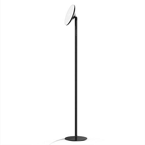 Lampadaire de Sol LED 30W Avantica Lampe sur Pied de Salon(0 Délai pour Le Commutateur Mural,Lumière blanche de 5500K,Minuterie de 30 Minutes,4200 Lumens)