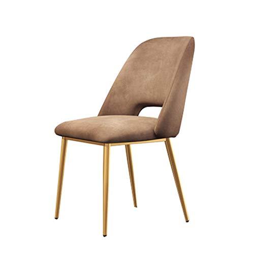 Colore : PU Brown Sedie moderne imbottite da pranzo con